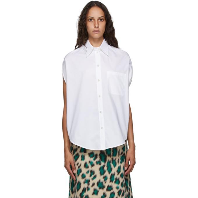 MM6 Maison Margiela Chemise blanche Circle