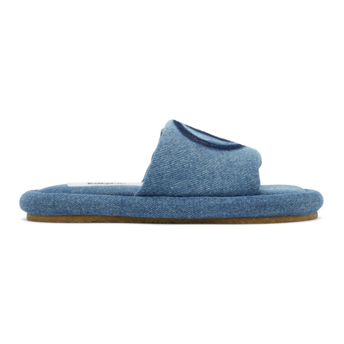 Mm6 Maison Margiela MM6 MAISON MARGIELA BLUE DENIM 6 SANDALS