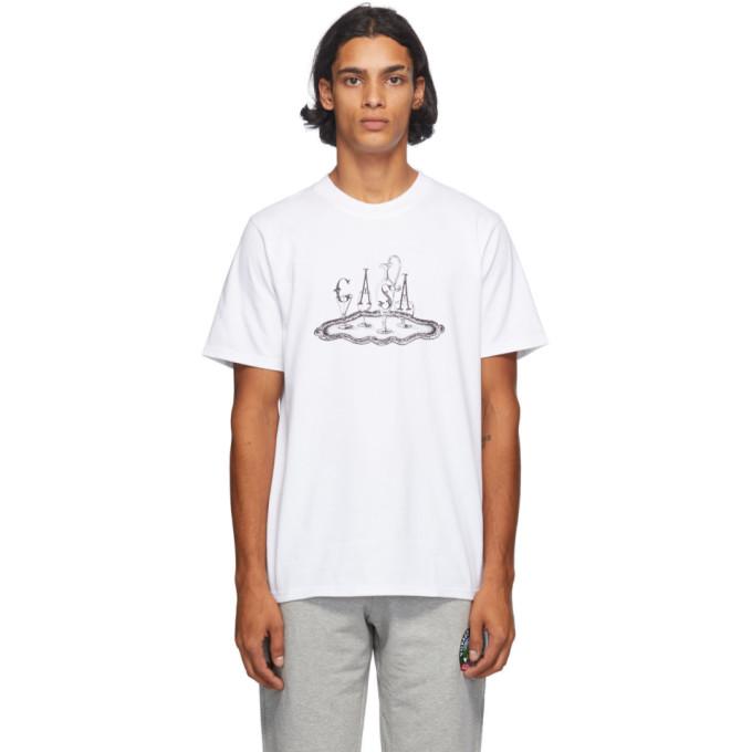 Casablanca Cottons CASABLANCA WHITE SERVICE T-SHIRT
