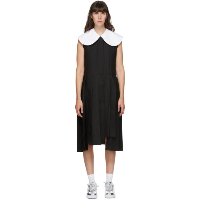 Comme Des Garçons COMME DES GARCONS BLACK LARGE COLLAR DRESS