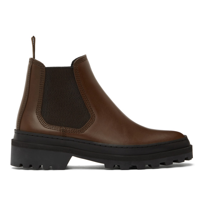 Brown Cali Chelsea Boots
