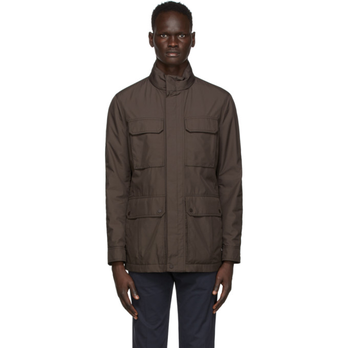 Ermenegildo Zegna Ermenegildo Zegna Grey Field Jacket