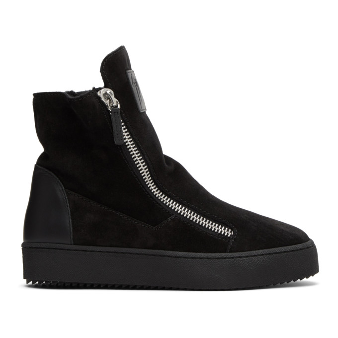 Giuseppe Zanotti Black Effie Sneakers  - buy with discount