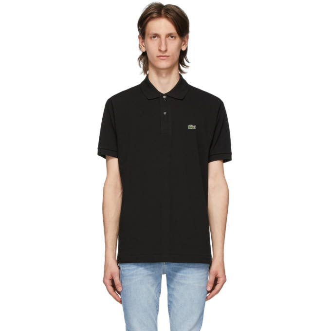 Lacoste Black L.12.12 Polo  - buy with discount