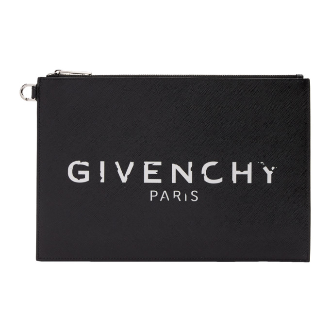 Givenchy 黑色 Givenchy Paris Iconic 手拿包