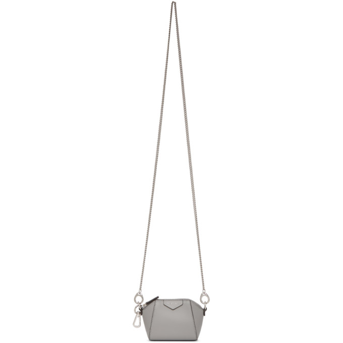 Givenchy GIVENCHY GREY BABY ANTIGONA BAG