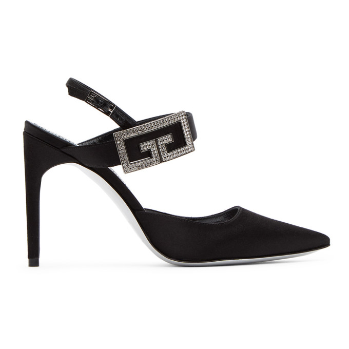 Givenchy Pumps GIVENCHY BLACK DOUBLE G PUMPS