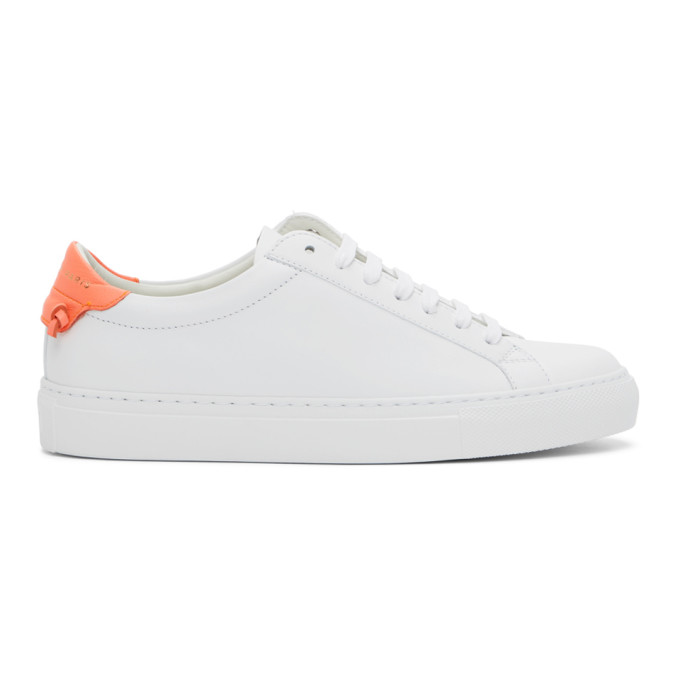 GIVENCHY GIVENCHY WHITE AND PINK URBAN KNOTS SNEAKERS
