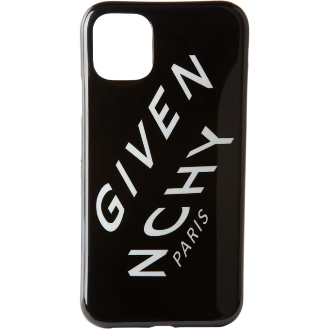 Givenchy ブラック Refracted ロゴ iPhone 11 ケース
