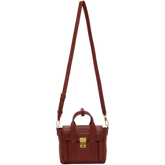 31 Phillip Lim Burgundy Mini Pashli Bag 202283F04707601
