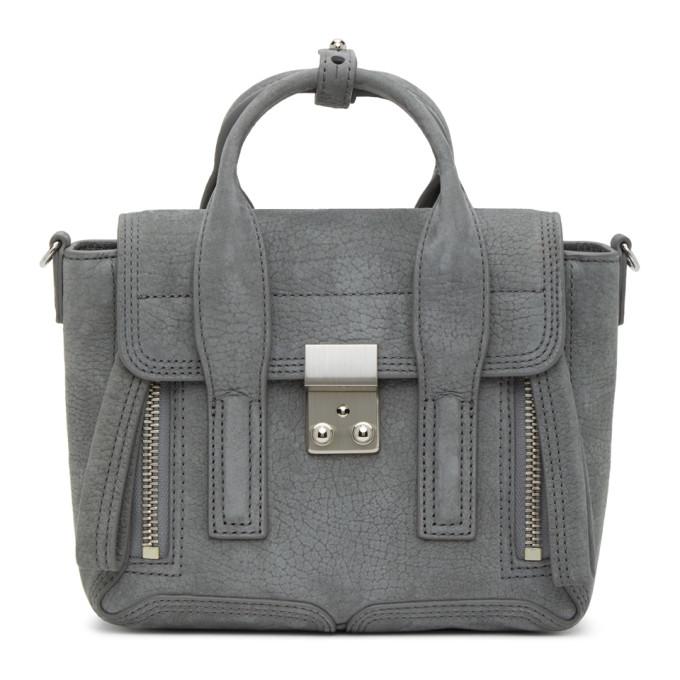 31 Phillip Lim Grey Mini Pashli Bag 202283F04707901