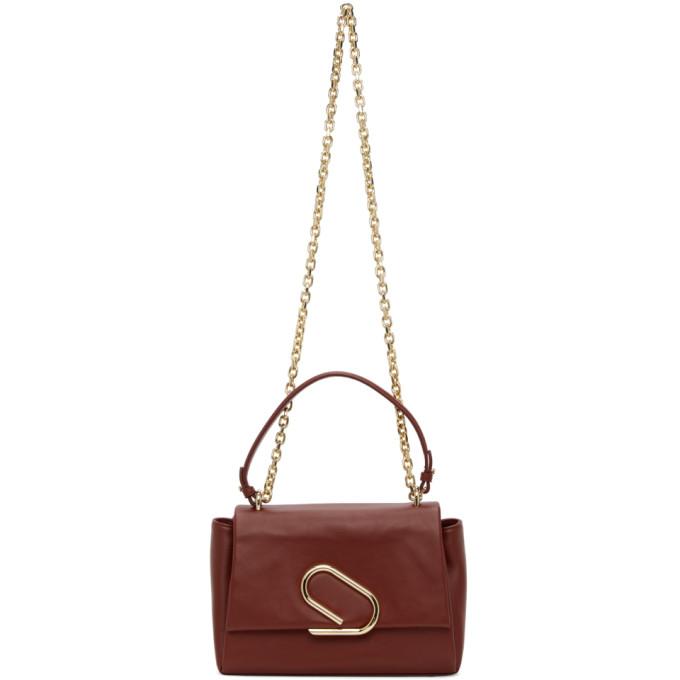 31 Phillip Lim Burgundy Alix Soft Chain Bag 202283F04808501
