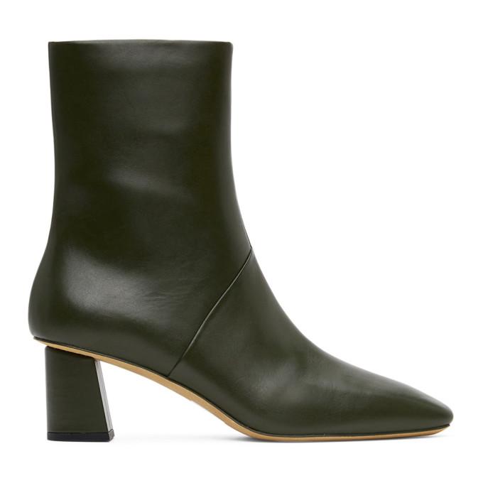 3.1 Phillip Lim Khaki Tess Ankle Boots