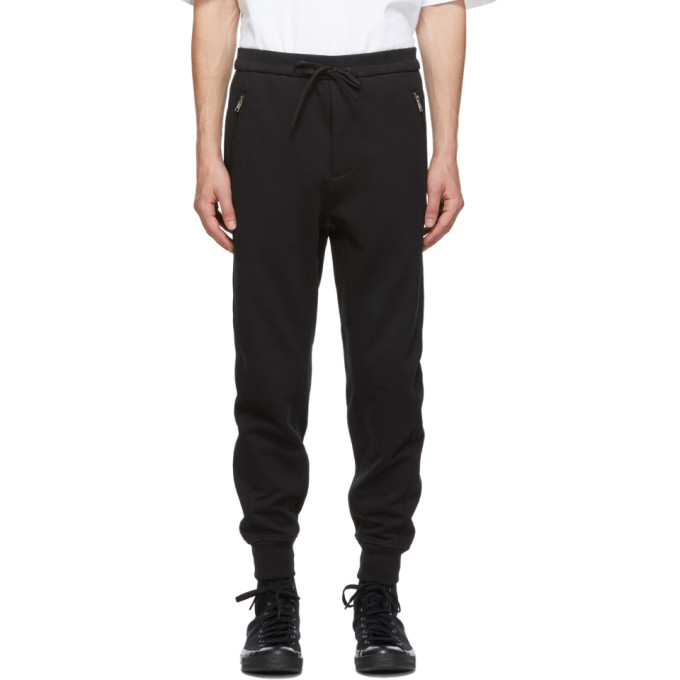 31 Phillip Lim Black Classic Tapered Sweatpants 202283M19001302