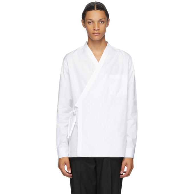 3.1 Phillip Lim Chemise blanche Kimono