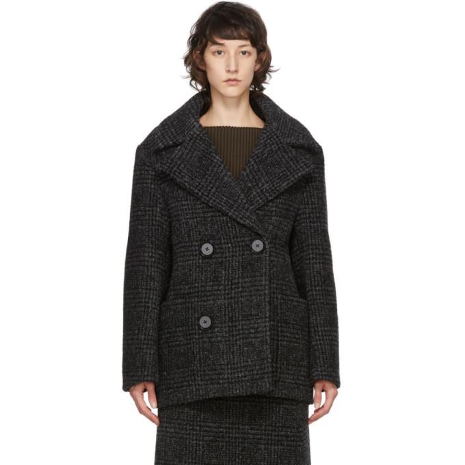 Proenza Schouler Proenza Schouler Black Wool Double-Breasted Jacket