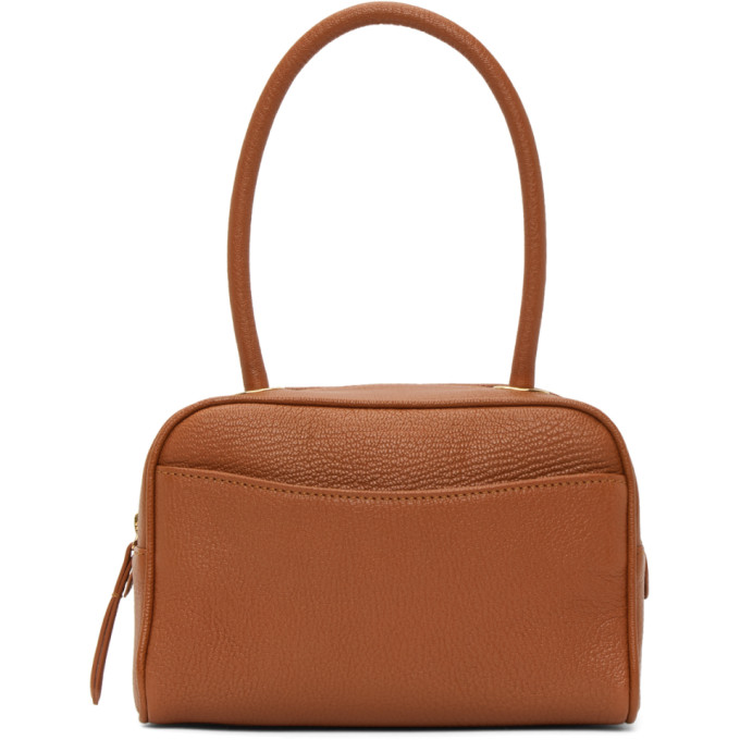 By Far BY FAR TAN MARTIN TOP HANDLE BAG