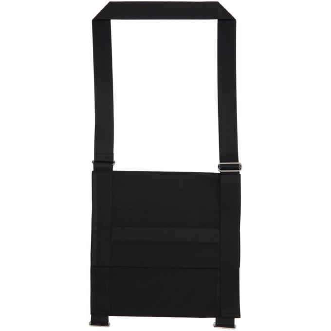 132 5 ISSEY MIYAKE Black Large Fold Square Bag 202302M17001301
