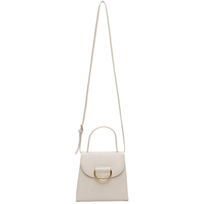 Little Liffner White Little Lady Bag In Marble