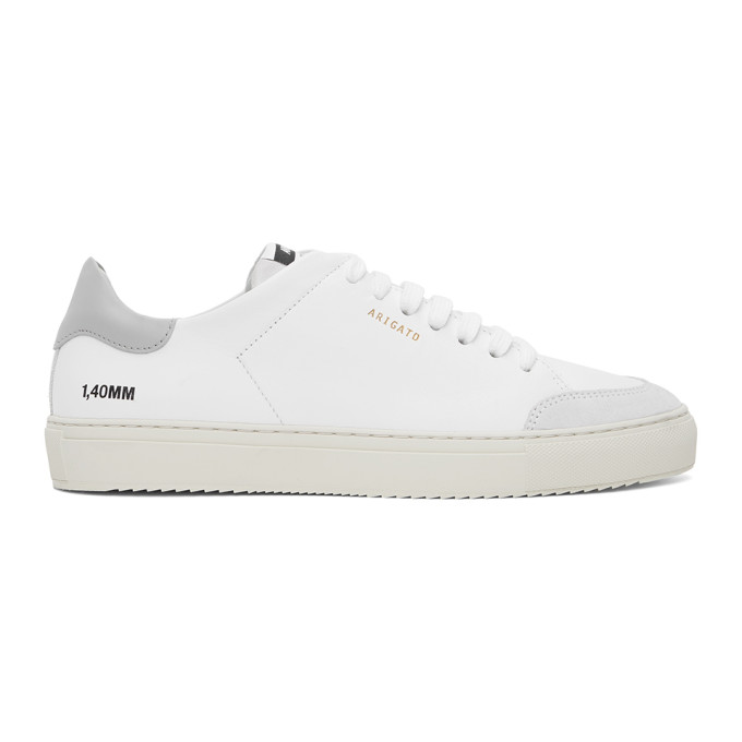 Axel Arigato AXEL ARIGATO WHITE AND GREY CLEAN 90 SNEAKERS