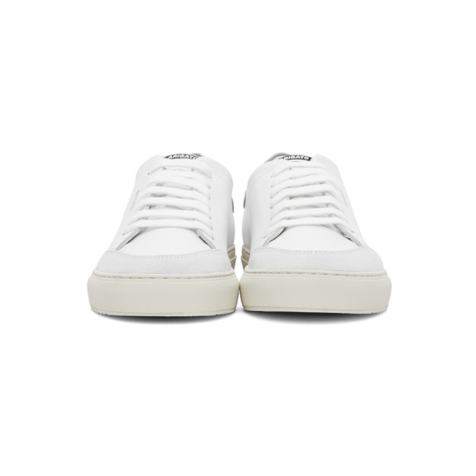 AXEL ARIGATO Suedes AXEL ARIGATO WHITE AND GREY CLEAN 90 SNEAKERS