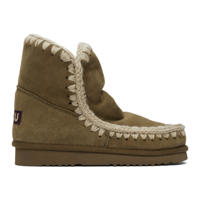 Mou Green 18 Ankle Boots