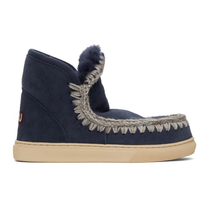 Mou Blue Sneaker Boots