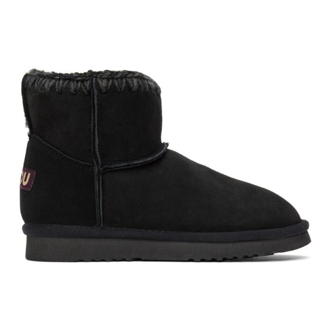 Mou Black Classic Boots