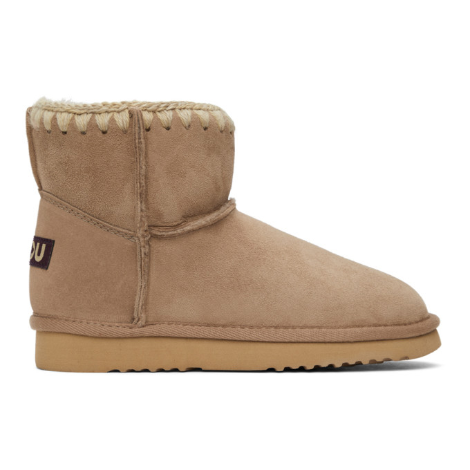 Mou Brown Classic Boots