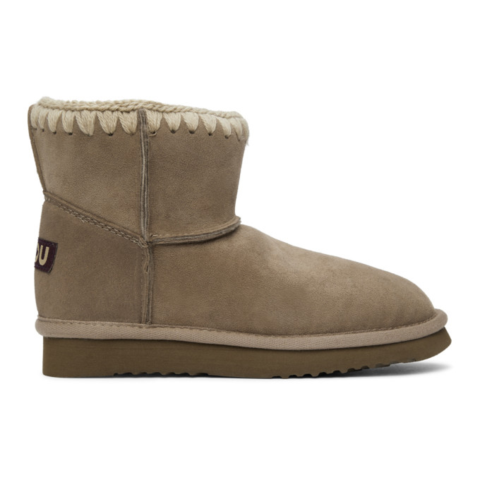 Mou Grey Classic Boots