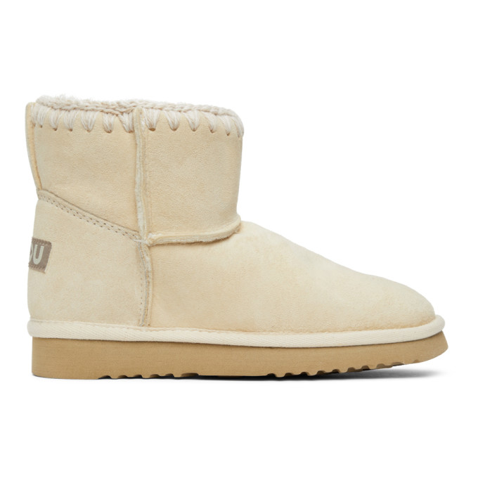 Mou Off-White Classic Boots