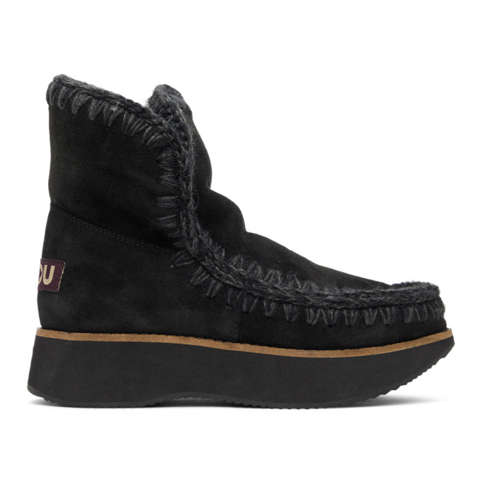 Mou Black 18 Running Boots