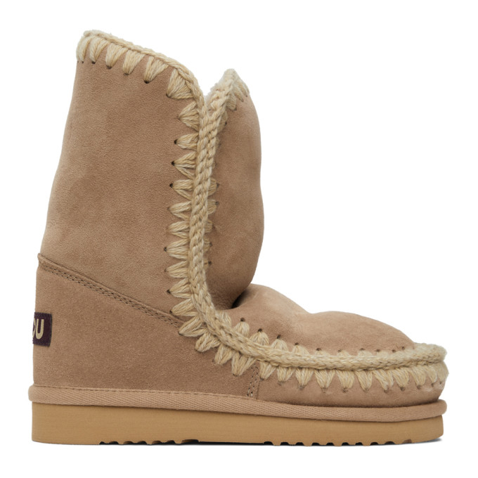 Mou Brown 24 Mid-Calf Boots