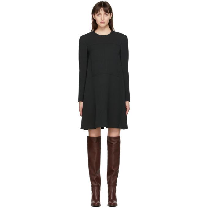 Chloe ブラック クレープ ドレス