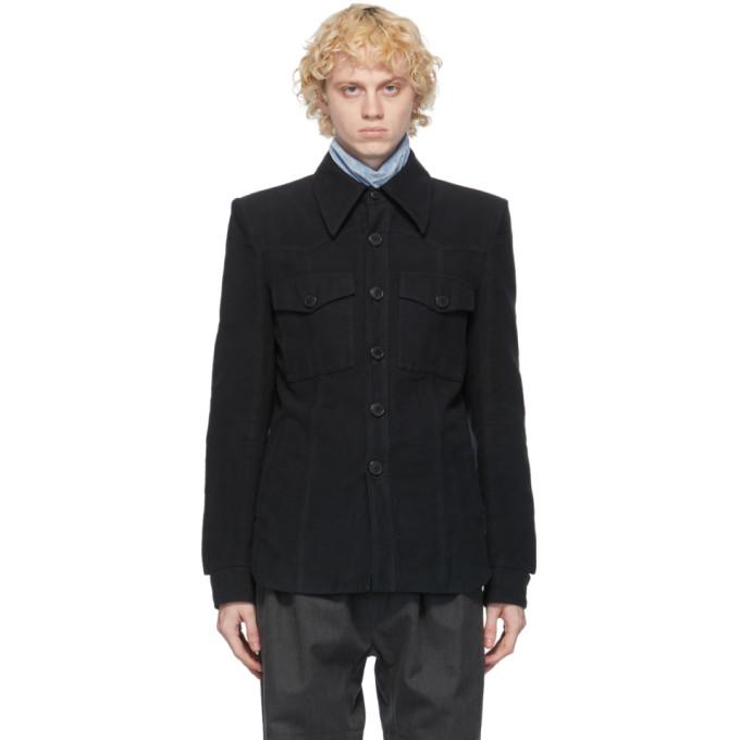 Dries Van Noten Dries Van Noten Black Shirt Jacket