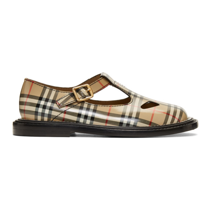 T-strap Mary Jane Flat In Archive Bei