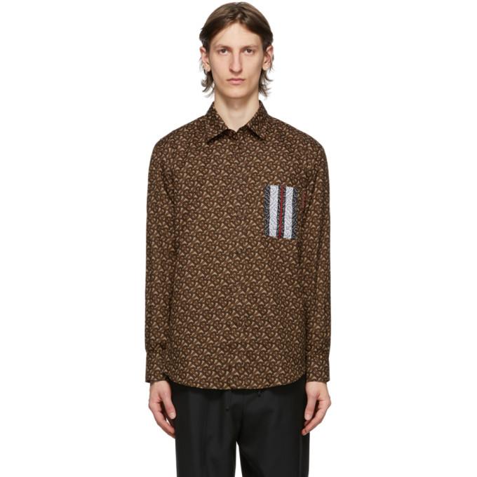 Burberry モノグラム ストライプ シャツ