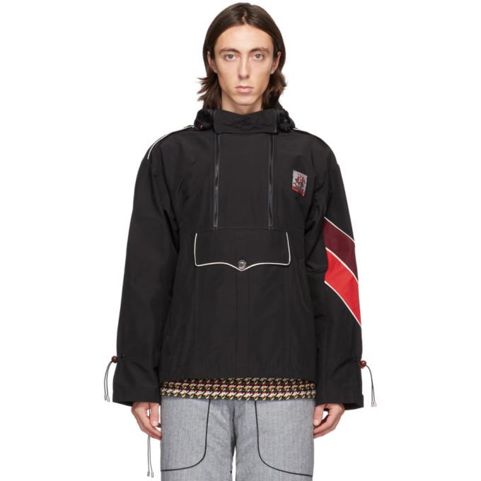 Boramy Viguier Boramy Viguier Black Windbreaker Jacket