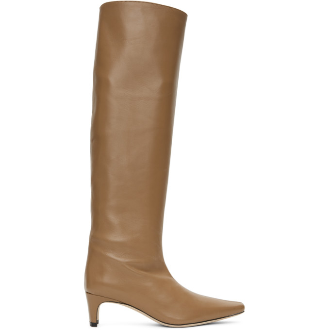 Staud Brown Wally Boots