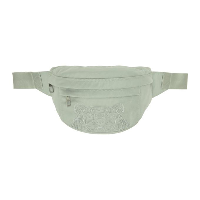 Kenzo Grey Kampus Bum Bag In 61 Grey Gre