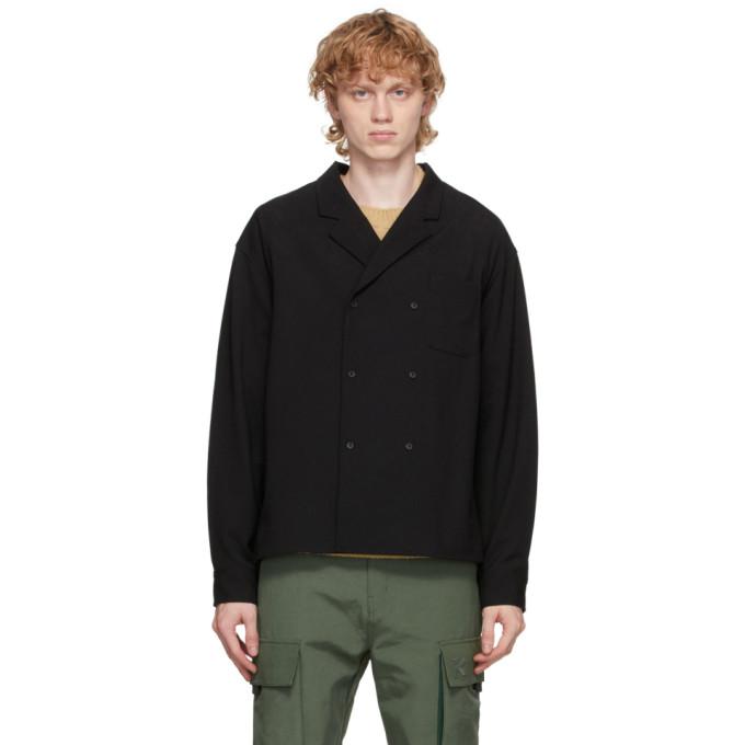 Kenzo Kenzo Black Wool Shirt Jacket