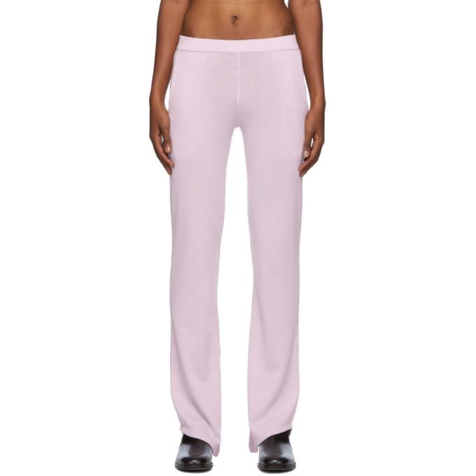 Ludovic De Saint Sernin Purple D-pants Trousers In Lavender