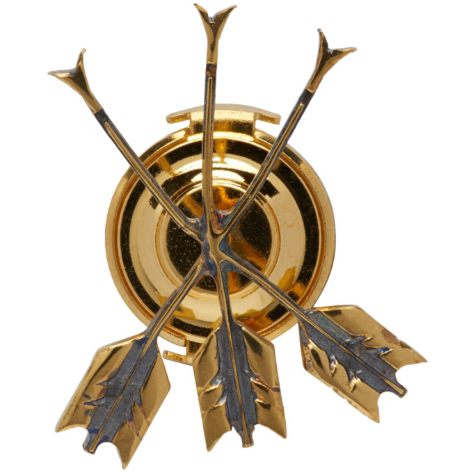 Undercover Gold Arrows Pin