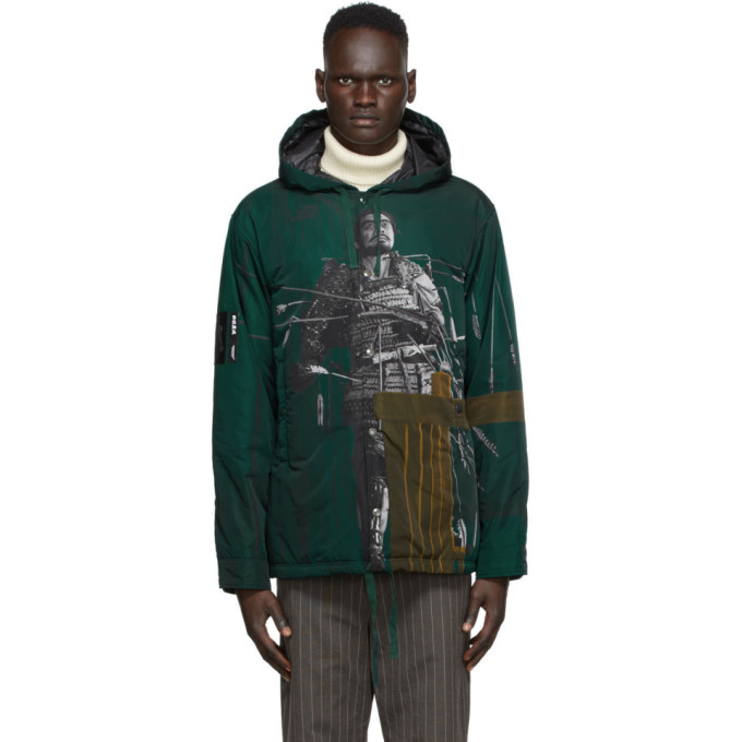 Undercover Undercover Multicolor Printed Jacket
