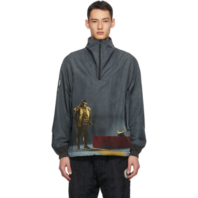 Undercover Undercover Grey Printed Jacket
