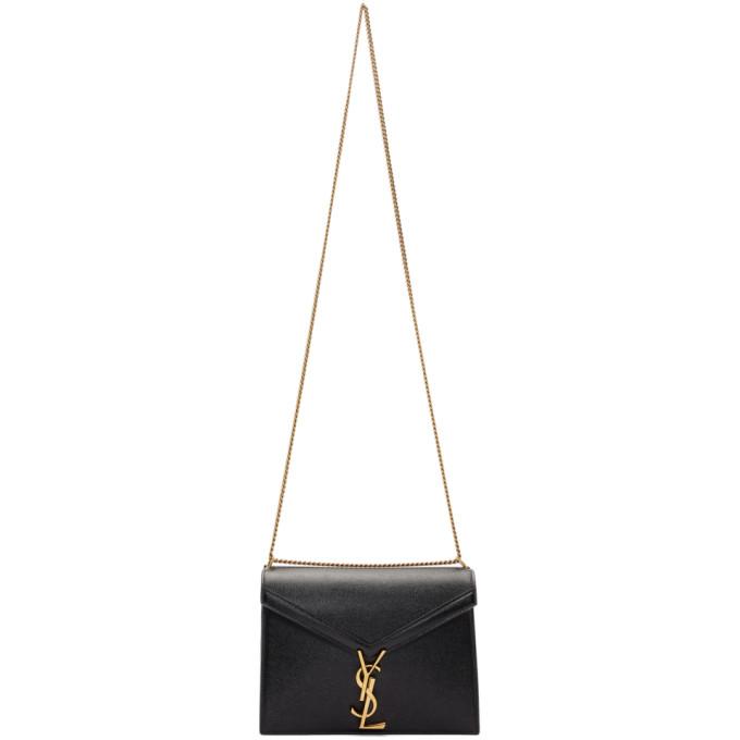 Saint Laurent Black Monogramme Clasp Cassandra Bag  - buy with discount