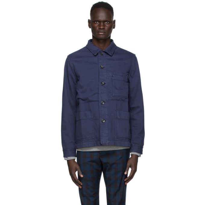 PS by Paul Smith PS by Paul Smith Navy Work Jacket