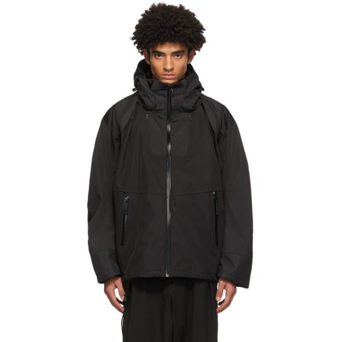Hyein Seo Hyein Seo Black Hardshell Jacket