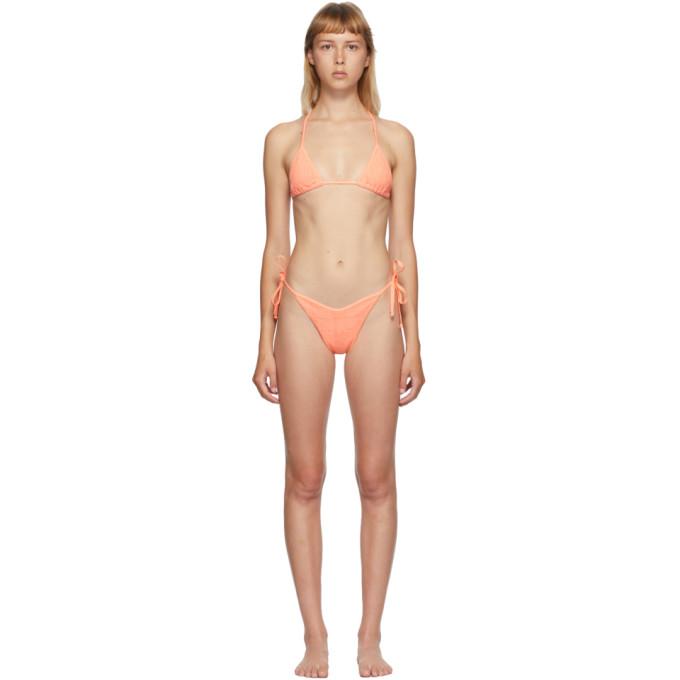 Hunza G Bikini orange Carmen
