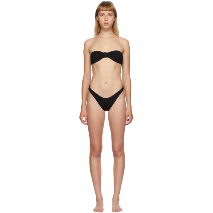 Hunza G Bikini noir Jean